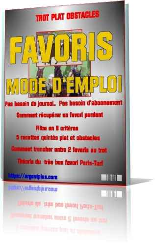 methodes turf favoris trot plat obstacles